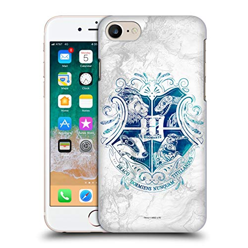 Cover posteriore rigida ufficiale Harry Potter Hogwarts Aguamenti Doni della Morte IX compatibile per Apple iPhone 7 / iPhone 8 / iPhone SE 2020