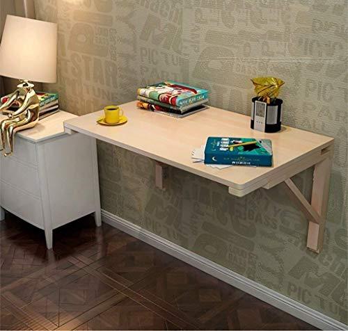 Praktische Beistelltische Klappbarer Flip-Wandtisch Lern-Zeichentisch für kleine Laptops Schreibtisch Platz für Kinder Kaffee-Stehtisch für Sofa/Schlafzimmer/Überbett