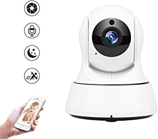 1080P WiFi Baby Monitor with Two Way Audio and Motion Detection Features, Wireless Pet Camera P2P Night Vision Home Securi...