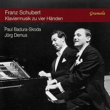 Schubert: Piano Music for Four Hands (Live)
