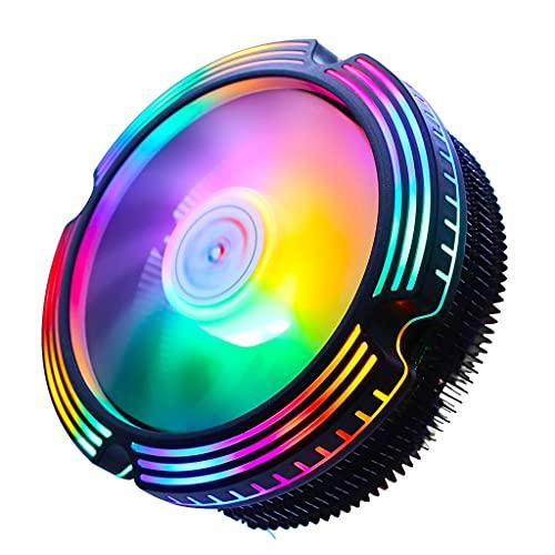 Cife Enfriador De CPU para AMD AM4 Intel 775 1150 1151 1155 1156 1200 1366 2011 X79 X99 Radiador 120mm 3Pin PWM 4Pin Ventilador De Refrigeración Ventilador (Color : 3PIN, Size : LGA 2011 X79 X99)