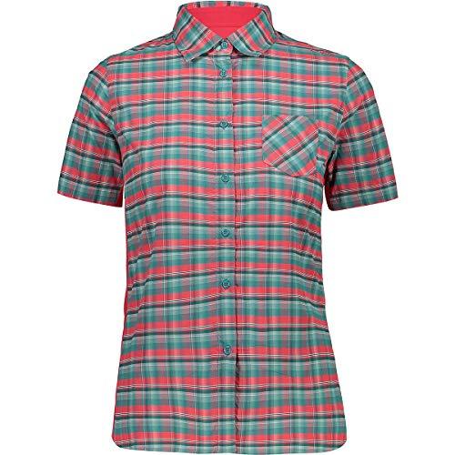 CMP Kurzen Ärmeln - Camiseta de manga corta para mujer, color Cerámica brillante., tamaño 38