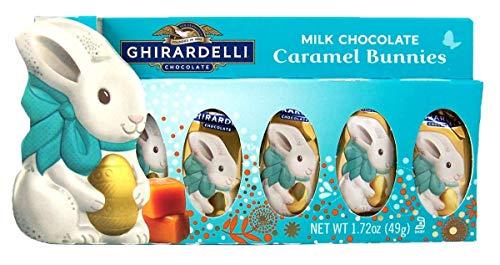 Ghirardelli Milk Chocolate Caramel Bunny Box from Ghirardelli