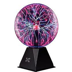 Image of Katzco Plasma Ball - 7 Inch...: Bestviewsreviews