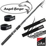 DAM Camaro Tele Spin Teleskoprute Spinnrute alle Modelle mit Angel Berger Rutenband (2,70m / 10-30g)
