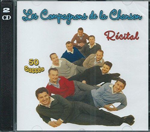 Les Compagnons de la Chanson-50 Succès-Récital (2 CD)