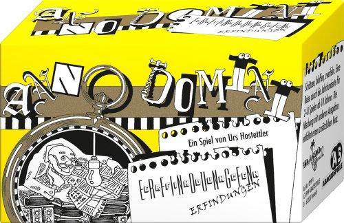 ABACUSSPIELE 09991 - Anno Domini - Erfindungen, Quizspiel, Schätzspiel, Kartenspiel