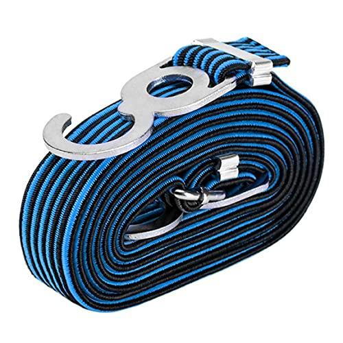 Heavy Duty Seile Gurte, Einstellbarer Gepäck Elasticated Gummi Bungee Straps Cords mit Haken