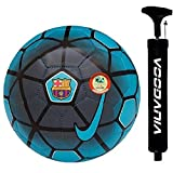 VOODANIA Telstar Combo Pack 1 Football & 1 pump PU material multi color size 5 for All Age Groups Kids Fans of Euro Cup copa...