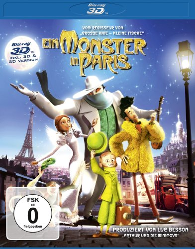 Ein Monster in Paris (inkl. 2D Version) [Blu-ray 3D]