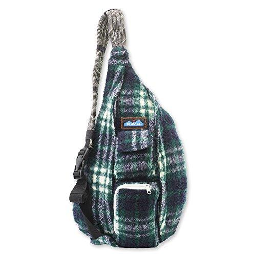 KAVU Plaid Rope Sling Bag Crossbody Backpack with Adjustable Shoulder Strap...