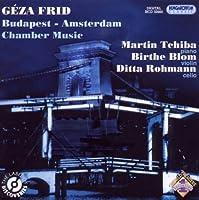 Budapest - Amsterdam Chamber Music by Martin Tchiba