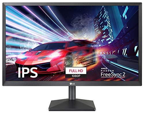 LG Full HD 22 Inch IPS Monitor - Dual HDMI & VGA Port - Reader Mode and Flicker Free Screen (Work & Education) - 22MN430M