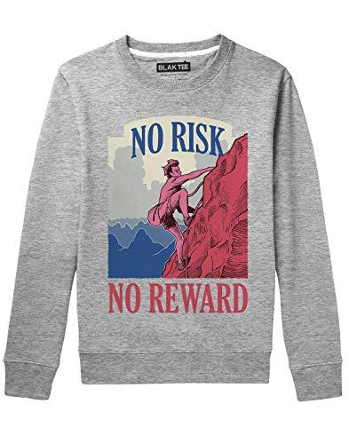 BLAK TEE Unisex Mountain Climber Adventure Sweat-Shirt XXL