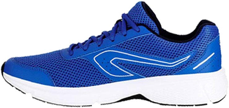 FF Sportschuhe männlich Herbst atmungsaktiv Dämpfung Licht Laufschuhe (Farbe   Blau, Größe   EU39 UK6.5 CN40)    Die Farbe ist sehr auffällig