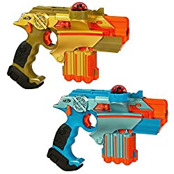commercial Nerf Official: Lazer Tag Phoenix LTX Tagger 2-Pack is a fun multiplayer laser tag game for kids … laser tag gun