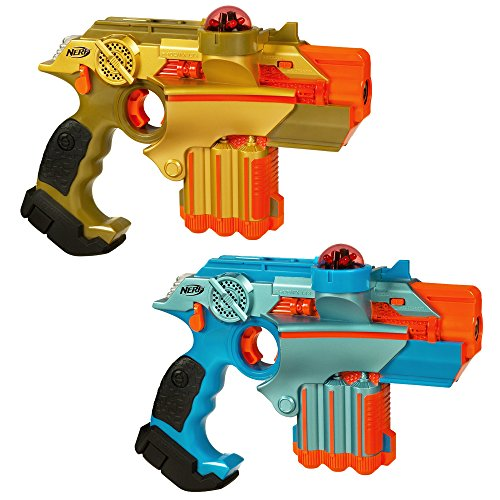 Nerf Official: Lazer Tag Phoenix LTX Tagger 2-pack - Fun Multiplayer Laser Tag Game for Kids &...