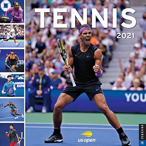 Tennis 2021 Wall Calendar: The Official U.S. Open Calendar