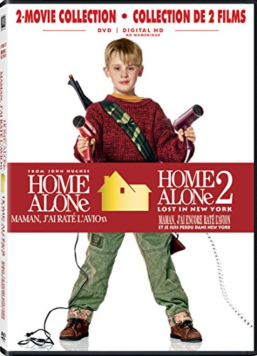 Home Alone / Home Alone 2: Lost In New York Double Feature (Bilingual) [DVD + Digital Copy]