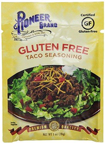 Pioneer Brand Gluten Free Taco Seasoning (Pack of 2) 1 oz Packets