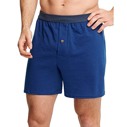 Hanes Men's 5-Pack Comfortsoft Boxer with ComfortFlex Waistbands, Assorted, Large