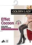 Golden Lady Effet Cocoon Collants, 100 DEN, Noir, FR: 4 (Taille fabricant: 4) Femme