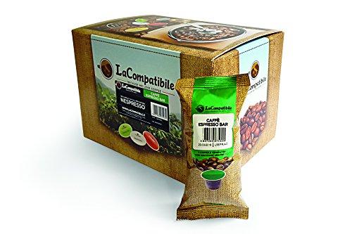 LaCompatibile NESPRESSO® Capsule Compatibili Caffè Espresso Bar - 100 capsule