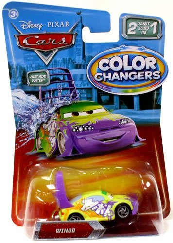 Disney CARS - T5643 - The Movie - COLOR CHANGERS / Farbwechsler - WINGO