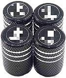 goodsmix 4 Piezas Tapas para Válvulas de Neumáticos, para Scania Alle Modelle, Cubierta válvula Rueda de Coche Antipolvo Decoración Accesorio