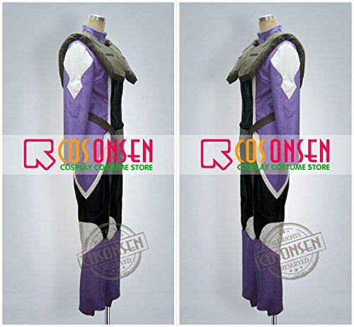 『機動戦士ガンダム00 ティエリア アーデ コスプレ衣装 (女性M)』の3枚目の画像