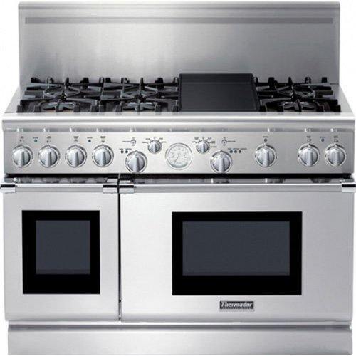 Thermador PRD486EDG 48 Pro Grand Dual Fuel Range Stainless