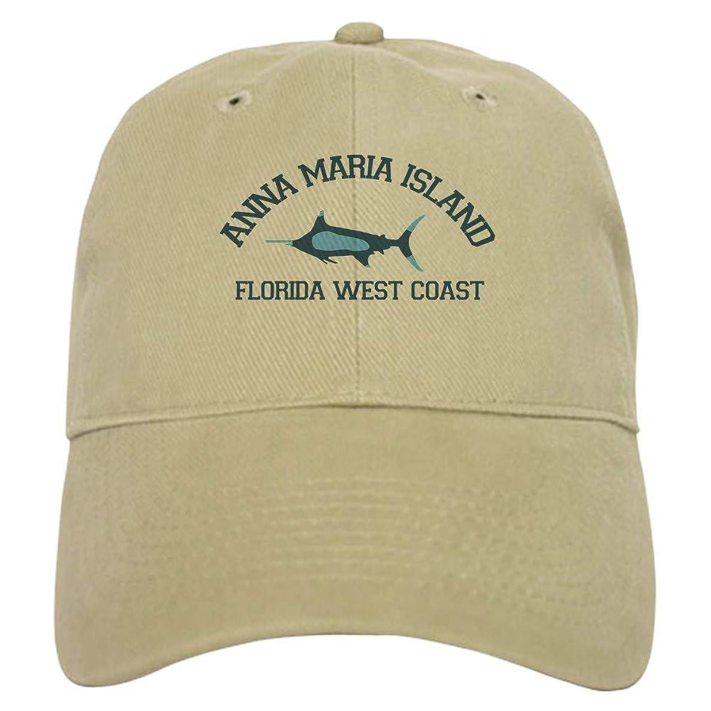 CafePress Anna Maria Island Fishing Design. Baseball Cap