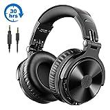 Bluetooth Kopfhörer Over Ear OneOdio Geschlossene Studio Kopfhörer Kabellos mit 30 Stunden...