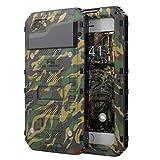 Beeasy Coque pour iPhone 6 / 6S Antichoc, Étanche Protecteur d'Écran Intégré...