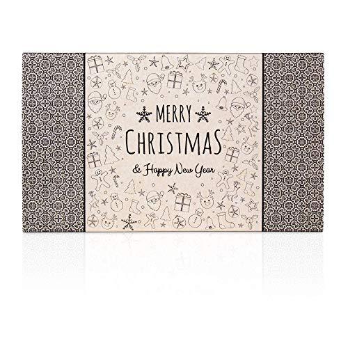 Naturkosmetik Geschenkset, 3 Handcremes mit Bio-Ölen in Reisegrößen im zauberhaften Geschenkkarton, ideales kleines Weihnachtsgeschenk