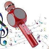 Herefun Microphone Karaoké sans fil Bluetooth enfants, lecteur de micro...
