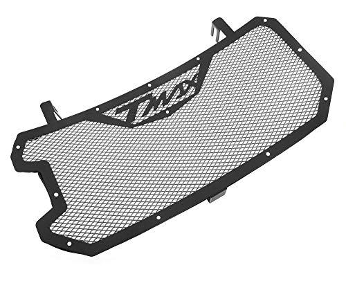 Mota Rejilla de radiador de acero inoxidable Protección de protección de piedra de Color negro TMAX 530 2012-16 Accesorio para equipo de scooter