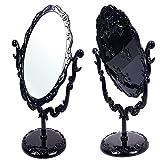 Escritorio Giratorio rosas soporte de maquillaje espejo de estilo gótico negro mariposa...