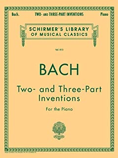 Two- and Three-Part Inventions: Piano Solo