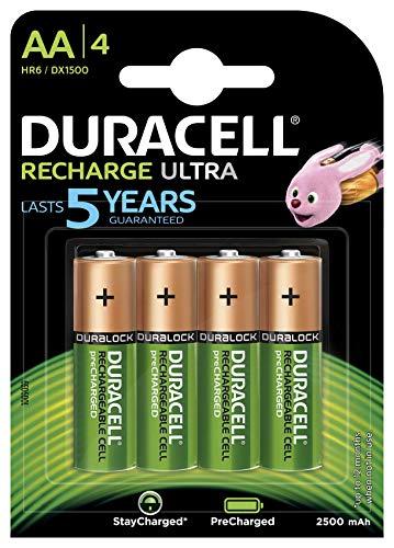 Duracell Recharge Turbo, Batería, NiMH 2500 mAh, 12 V, AA