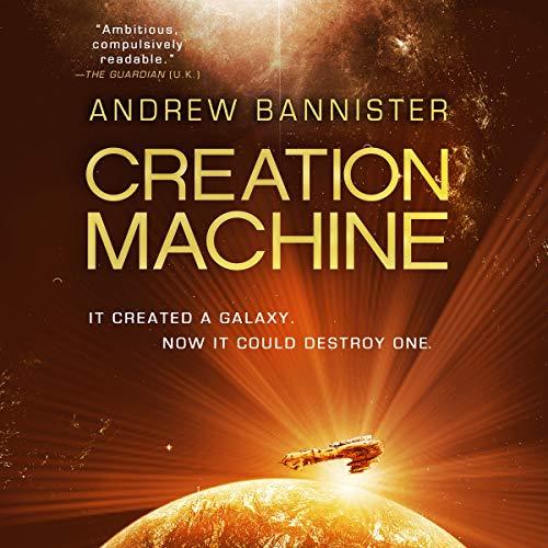 Creation Machine audiobook cover art
