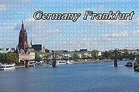 フルダ城ドイツ大人のためのジグソーパズル1000ピース木製旅行ギフトお土産-Pt-01462