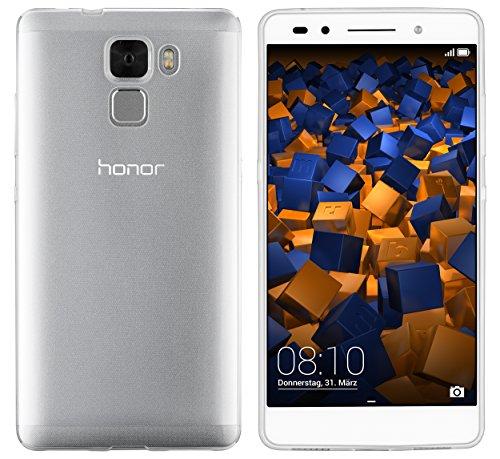 mumbi Hülle kompatibel mit Honor 7/7 Premium Handy Case Handyhülle dünn, transparent