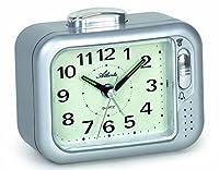 Alarm wählbar: Beep oder Glockenton Alarmschalter vorne Leuchtzifferblatt Seniorengeeignet Maße: ca. 12 x 10 x 6 cm
