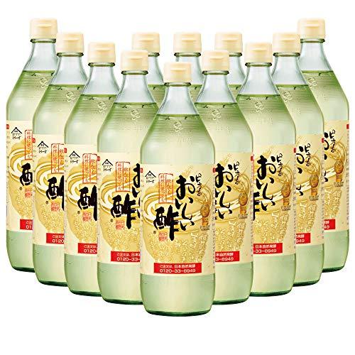 日本自然発酵 おいしい酢 900ml 12本セット