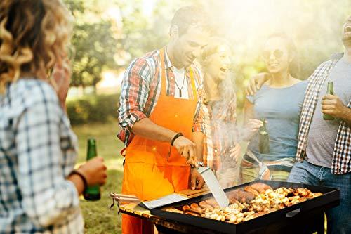 51RqcNpNu9L. SL500  - Stanbroil Grill-Zubehör Spatel Werkzeuge für Blackstone und Camp Chef Grill, Set von 3 Edelstahl-Grill-Werkzeugen für Blackstone und Camp Chef Flat Top BBQ Kochen Camping