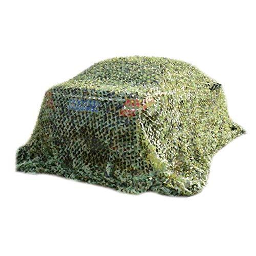 Qjifangzyp Ombrage Net 3x3m Vert Parasol Net Camouflage Net Carport Jardin Décoration Vie Privée Plante Parasol Soleil Toile Net Balcon Terrasse Protection Solaire Différentes Tailles 5m 6m 8m 10m