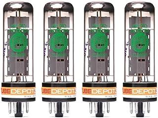 Quad of Electro-Harmonix EL34 EH Power Vacuum Tube
