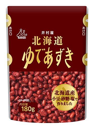 井村屋 北海道パウチゆであずき 180g ×10袋