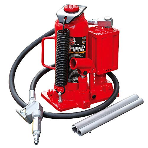 Torin Big Red Air Hydraulic Bottle Jack, 12 Ton (24,000 lb) Capacity